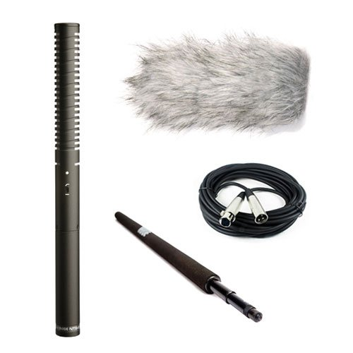 Rode NTG-2 Dual Powered Directional Shotgun Microphone BUNDLE #NTG2 E