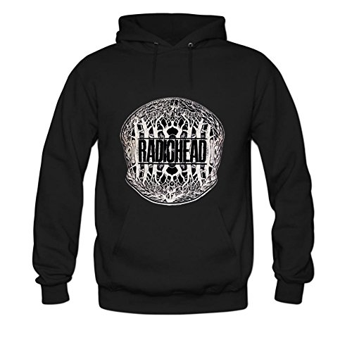 Radiohead Mens hoody Sweatshirt XXL Black