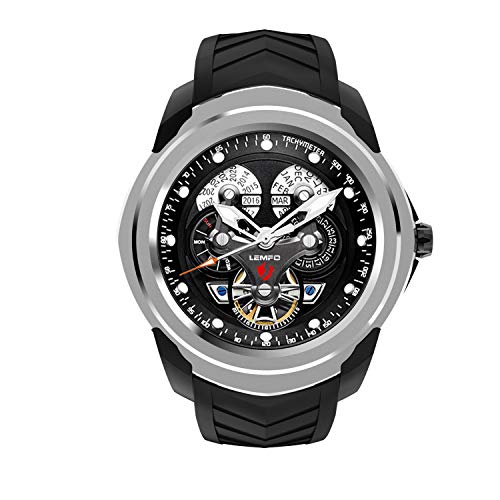Smart Watch, Sports Bracelet, Android Operating System / 512MB + 4GB / Call/Insertable SIM Card/Business Style Silver