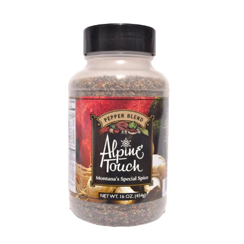 Alpine Touch 16 Oz. Pepper Blend Seasoning by Alpine Touch