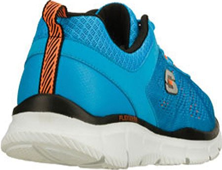 Skechers Hombres Equalizer Deal Maker, Azul / Naranja, Us 8.5 M