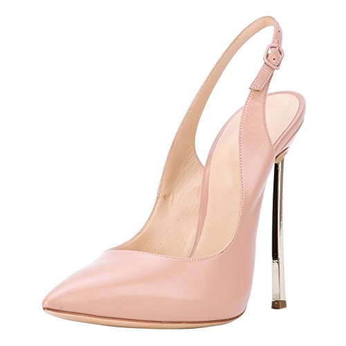 pink Metal Onlymaker Heels Pointed Court Stiletto Sexy Women's Bowknot Shoes High B Toe fII7qwC