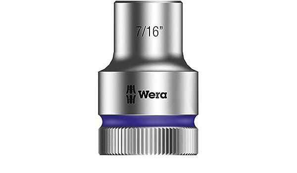 Wera Zyklop 8790 HMC 1//2-Inch Socket Hex Head 25//32-Inch x Length 37mm