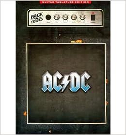 Book AC/DC: Backtracks - Guitar Tab (Guitar Tablature Editions)- Common