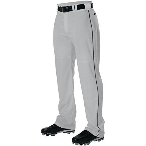 AllesonメンズワープニットBraided野球パンツ B00I7TCL12 Medium|グレー/ブラック グレー/ブラック Medium
