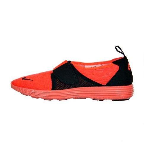 well-wreapped Nike Womens Lunar Rift Racer Lightweight Running Shoes(TOTAL  CRIMSON/BLACK