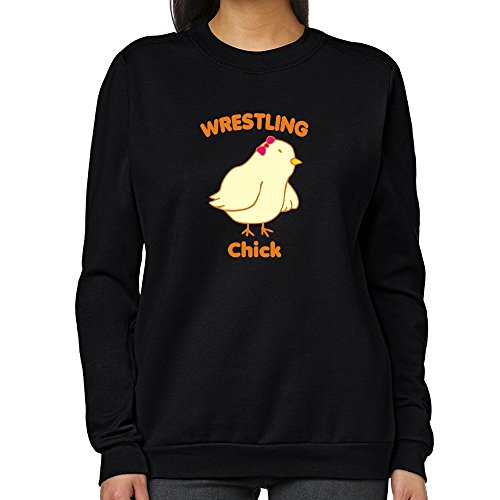 Teeburon Wrestling CHICK Women Sweatshirt by Teeburon