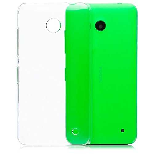 Amazon.com: Nokia Lumia 630 / 635 | iCues Ultra Slim Fit Shell Clear | [Screen Protector Included] clear case crystal cover transparent thin ultra slim ...