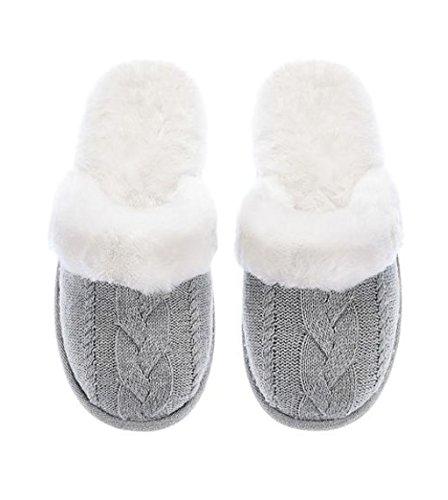 Amazon Victorias Secret Cozy Cable Knit Slipper Slippers