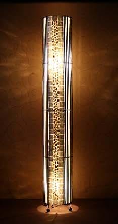 L mpara de pie asiatica tansa la22 32 decoraci n luminosa de dise o bali iluminaci n - Lamparas asiaticas ...