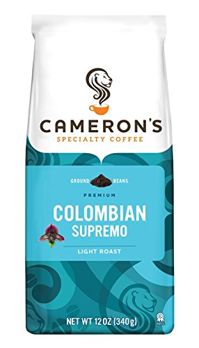 Cameron's Specialty Coffee, Colombian Supremo, 12 Ounce, Ground Coffee, Bag