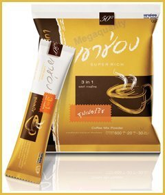 New Khao Shong Thai Instant Coffee Mix Powder 3 in 1 Super Rich Best Product From Thailand