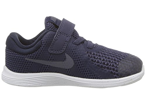 Nike Unisex-Kinder Revolution 4 (TDV) Traillaufschuhe, Blau (Neutral Indigo/Light Carbon/Obsidian 501), 27 EU