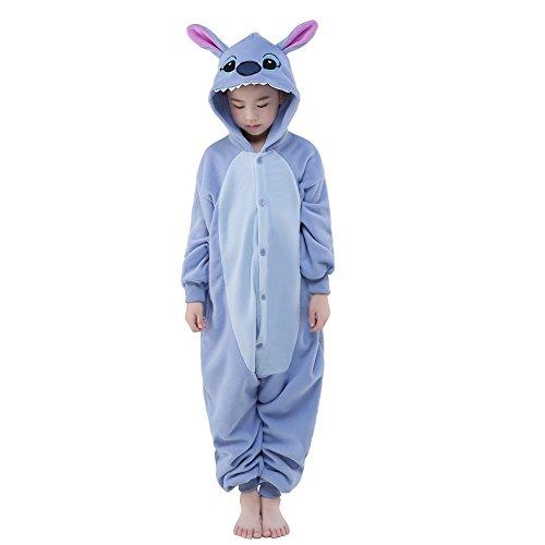 NEWCOSPLAY Halloween Unisex Animal Pyjamas Child Cosplay Costume (125, -