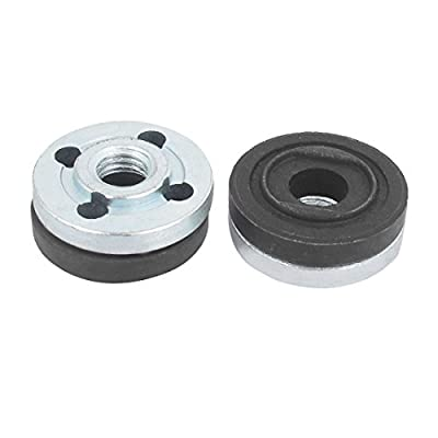 uxcell Round Clamp Inner Outer Flange Fixing 2 Pair for Makita Angle Grinder