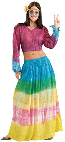 Forum Novelties Women's Generation Hippie Tye Dye Costume