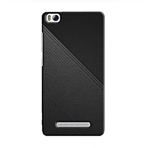 Cover It Up - Leather Stiched Mi4i Hard Case