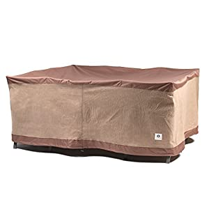 Duck Covers Ultimate Square Patio Table with Chairs Cover by Duck Covers