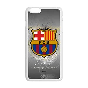 Happy Fc Barcelona Logo Cell Phone Case for Iphone 6 Plus