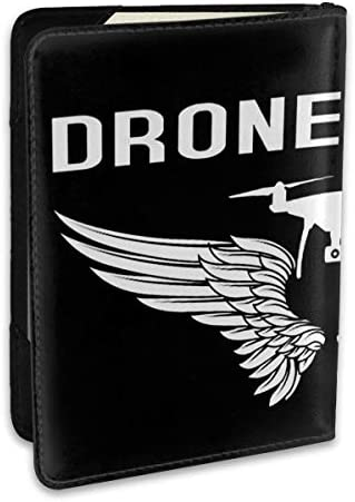 ドローンパイロット Drone Pilot パスポートケース パスポートカバー メンズ レディース パスポートバッグ ポーチ 収納カバー PUレザー 多機能収納ポケット 収納抜群 携帯便利 海外旅行 出張 クレジットカード 大容量
