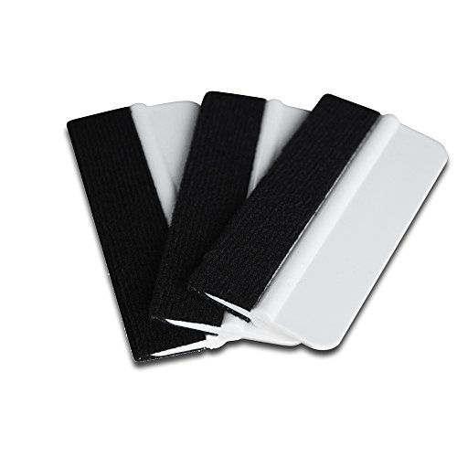 Ehdis 10PCS Soft Vinyl Wrap Tool Mini Window Tint Film Installing Squeegee Vinyl Film Applicator Scraper for Vinyl Wraps & Decals with Black Fabric Felt by Ehdis (Image #8)