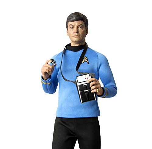 "Master Chief Costume Replica (QMx Star Trek TOS Doctor Leonard ""Bones"" McCoy 1:6 Scale Articulated Figure)"