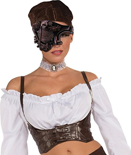 -Eye Half Mask (Mask Adult Halloween Accessory)