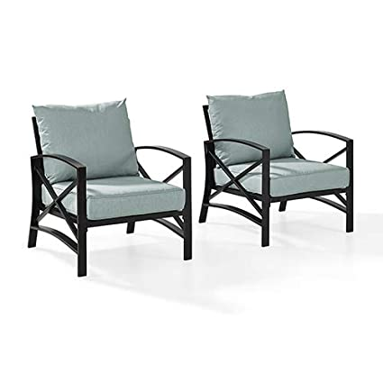 Image Unavailable. Image not available for. Color: Crosley Furniture Outdoor  ... - Amazon.com : Crosley Furniture Outdoor Arm Chair With Mist Cushion