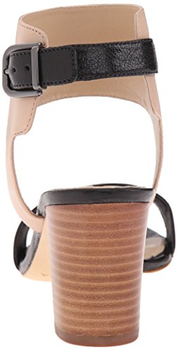 Women's Cappuccino Black Wiley Sandal Dress Spiga Via qXwZvY5x