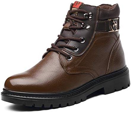 メンズ ブーツ ワークブーツ ハイカットブーツ おしゃれスノーブーツ カジュアルブーツ くしゅくしゅ ショート丈 防寒 防水 防滑 雨 雪 登山靴 冬靴 大きいサイズ メンズ靴 マウンテンブーツ エンジニアブーツ