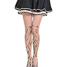 Qingsun the New Stamp Tattoo Stockings Pantyhose (Group Wudie Fly)