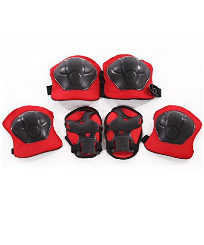 BXT-Kids-Sports-Protective-Gear-Skating-Roller-Blading-Wrist-Knee-and-Elbow-Pads-Set-Blades-Guard-BMX-Bike-Skateboar-Safety-Equipment-6-Pieces