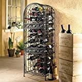 Wine Jail Storage,Wrought Iron,Antique Bronze