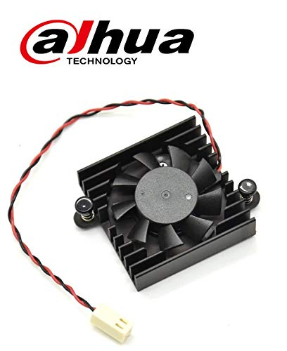 Original Dahua Heatsink Cooling Fan w/ 2 Wires 2 Pins for DVR/HDCVI Motherboard (Motherboard 2 Pin)