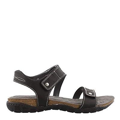 Khombu Women's, Solace Sandals Black 9 M | Sport Sandals & Slides