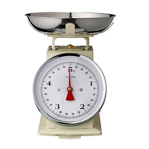 Cream Kitchen Scales