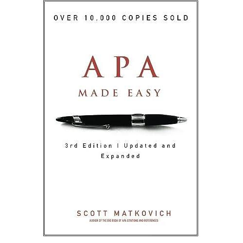 apa style guide amazon com rh amazon com White Paper Examples APA Style APA Style Paper