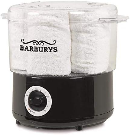 Máquina de vapor caliente de Barburys para toallas, calentador de toallas, calentador de toallas eléctrico, calentador de toallas, peluquería, salón de belleza, peluquería, barbería