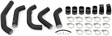 Mishimoto MMICP-F35T-15CWBK Wrinkle Black Ford F-150 3.5L EcoBoost Cold-Side Intercooler Pipe 2015-2016