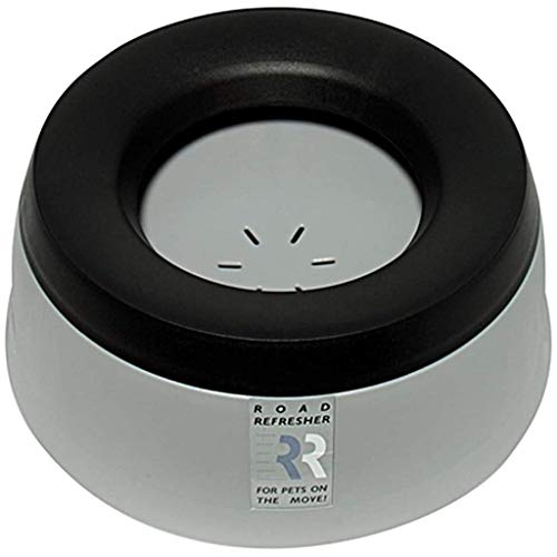 Road Refresher No Slobber, No Spill Dog Water Bowl | Eliminates Water Slobber from Even The Messiest Jowls, No More Wet Floors | Ideal for Home, Travel, Boat, RV | - Travel Bowl Spill