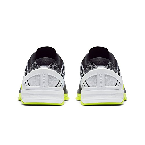 Nike Herren Metcon DSX Flyknit Trainingsschuh Deep Royal Blue / White-Racer Blau 10.5 D (M) US Schwarz / Weiß / Dunkelgrau / Volt