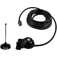 Tram Browning Black Tram Trunk Mount VHF Antenna Kit Motorola M1225 CM300 CM200 CDM750 CDM1250