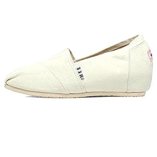 de con tela 37 de con alumnas tela superficial de blanco zapatos boca Zapatos la mayores pendiente fondo plano xtwXqTwY