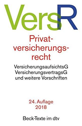 privatversicherungsrecht-dtv-beck-texte