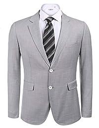 COOFANDY Men's Casual Dress Suit Slim Fit Stylish Blazer Coats Jackets