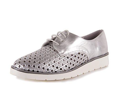 Chamby Zapato Cordones Kat Plata