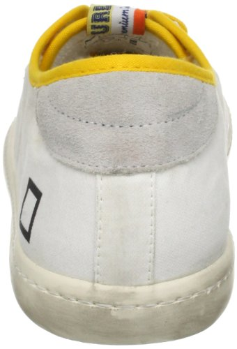 D.A.T.E. Homme Sneakers Blanc/Jaune uIrUf