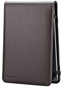 Marware Eco-Flip Genuine Leather Case Cover for Kindle, Brown (fits Kindle Paperwhite, Kindle, and Kindle Touch)