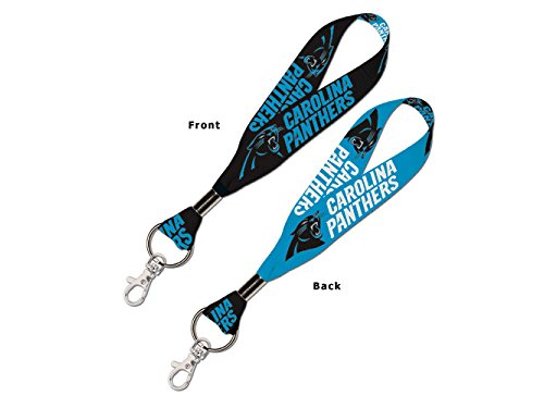 WinCraft NFL Carolina Panthers Lanyard Key Strap, 1