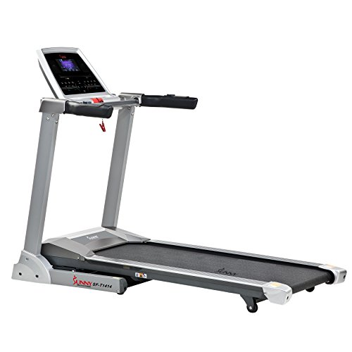 Sunny Health & Fitness SF-T1414 Treadmill Gray
